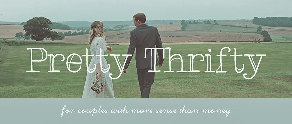 Pretty Thrifty | budget wedding blog offering money saving advice and inspiration