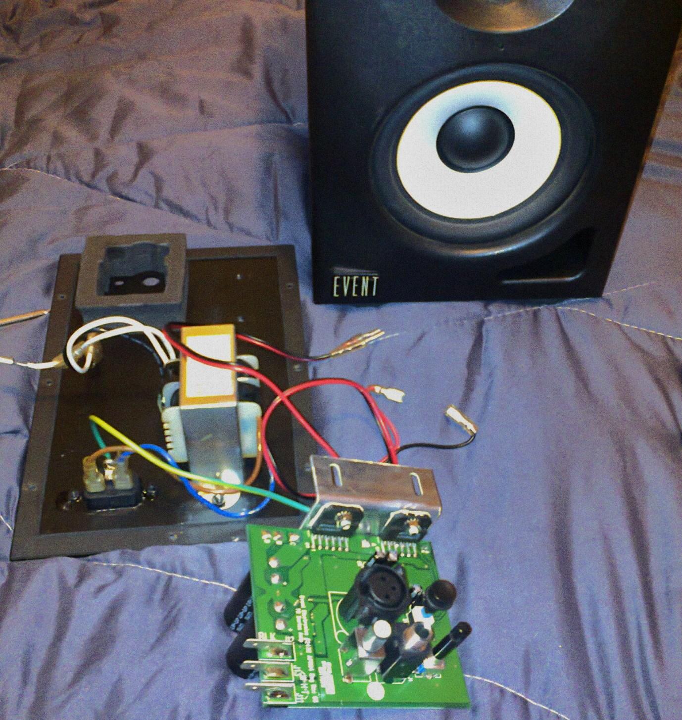 Tremendous Monitor Speakers Repair Guitar Dreamer Wiring Digital Resources Bemuashebarightsorg
