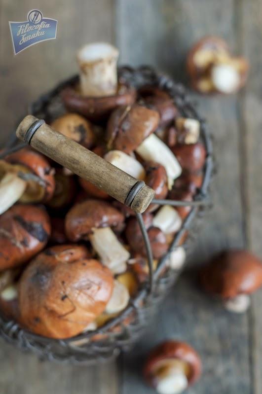 Kasza gryczana z grzybami przepis