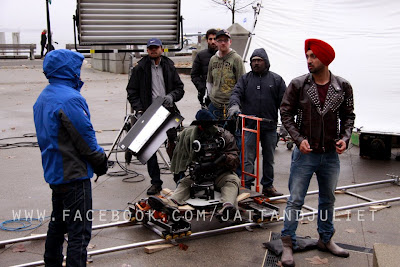 Jatt And Juliet Punjabi Movie Shooting Photo in Canada