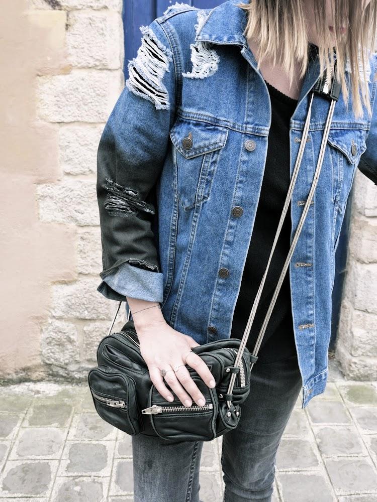 blog mode et beaut lille audressing ripped jeans jacket. Black Bedroom Furniture Sets. Home Design Ideas