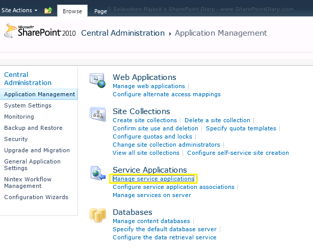 sharepoint 2010 office web apps service application