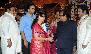 Brahmanandam at JrNtr Wedding