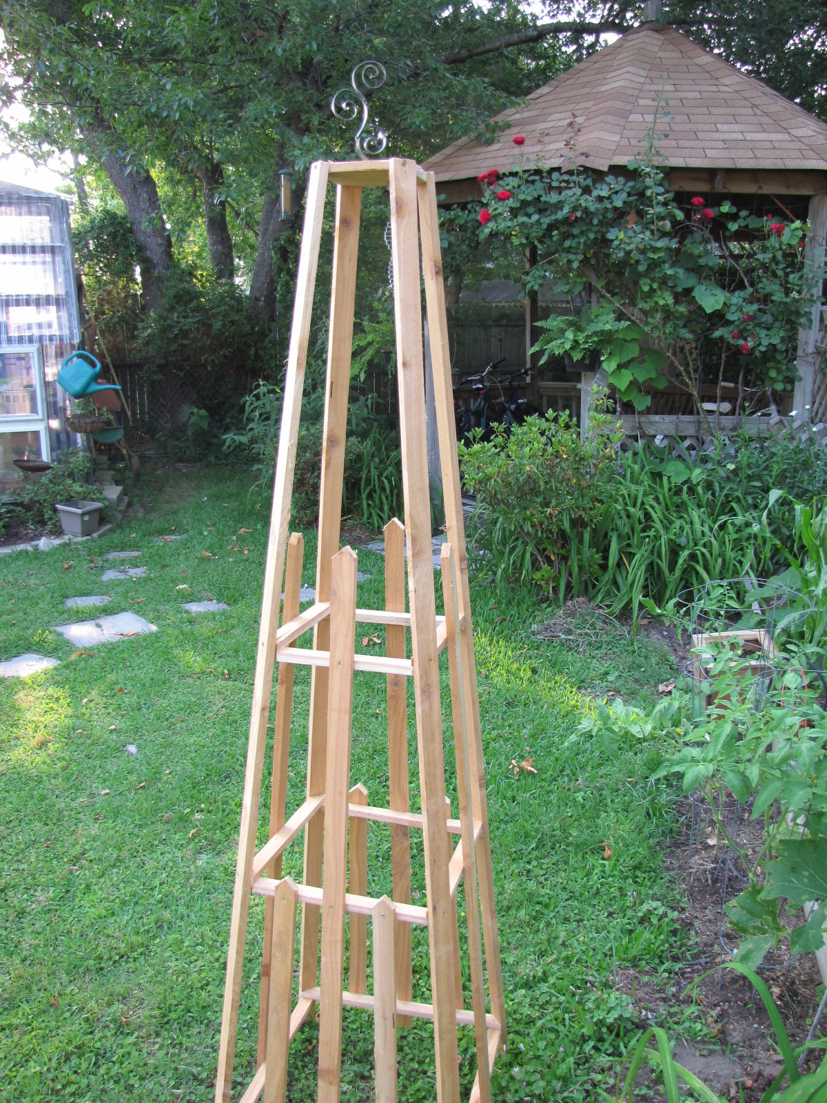 welcome to willway forge garden obelisk trellis