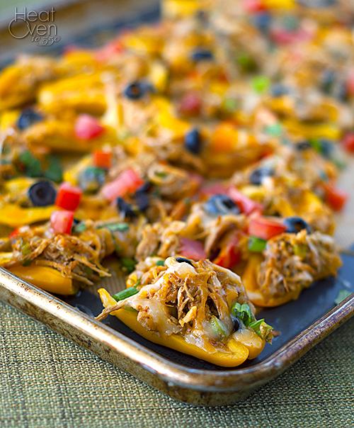 mini pepper chicken nachos4