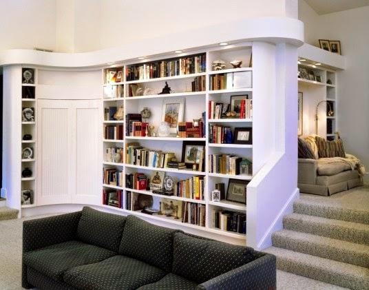 Conseils d co et relooking id es pour la maison biblioth ques modernes - Bibliotheque decoratie de maison ...