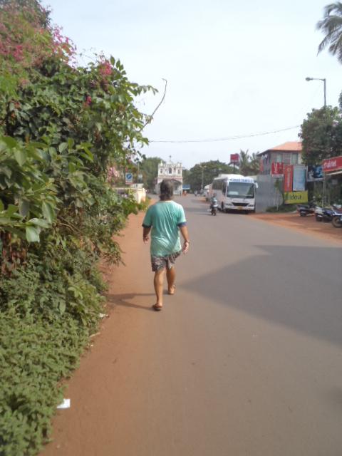 Not Just Curry and Chapatti : Sunday Walk Candolim, Calangunte, Arpora ...