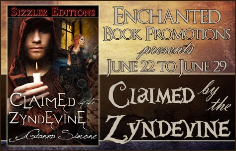 Claimed by the Zyndevine Book Tour