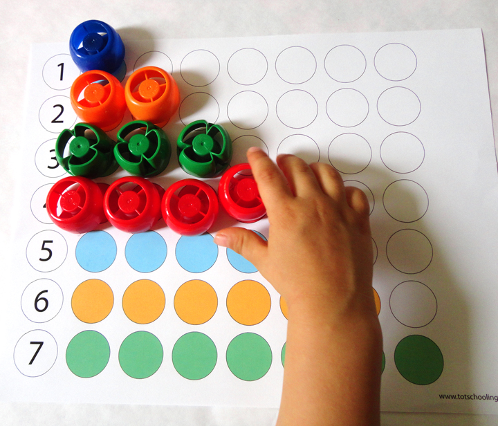 Color Matching Printables For Toddlers Totschooling