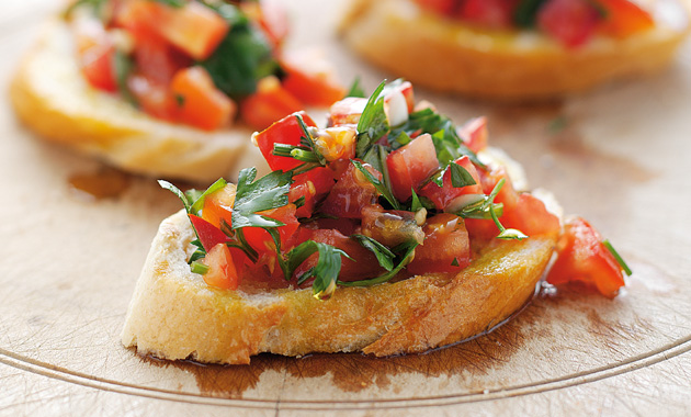 myshare tomato bruschetta. Black Bedroom Furniture Sets. Home Design Ideas