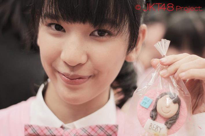 Beby pada JKT48 School edisi memasak