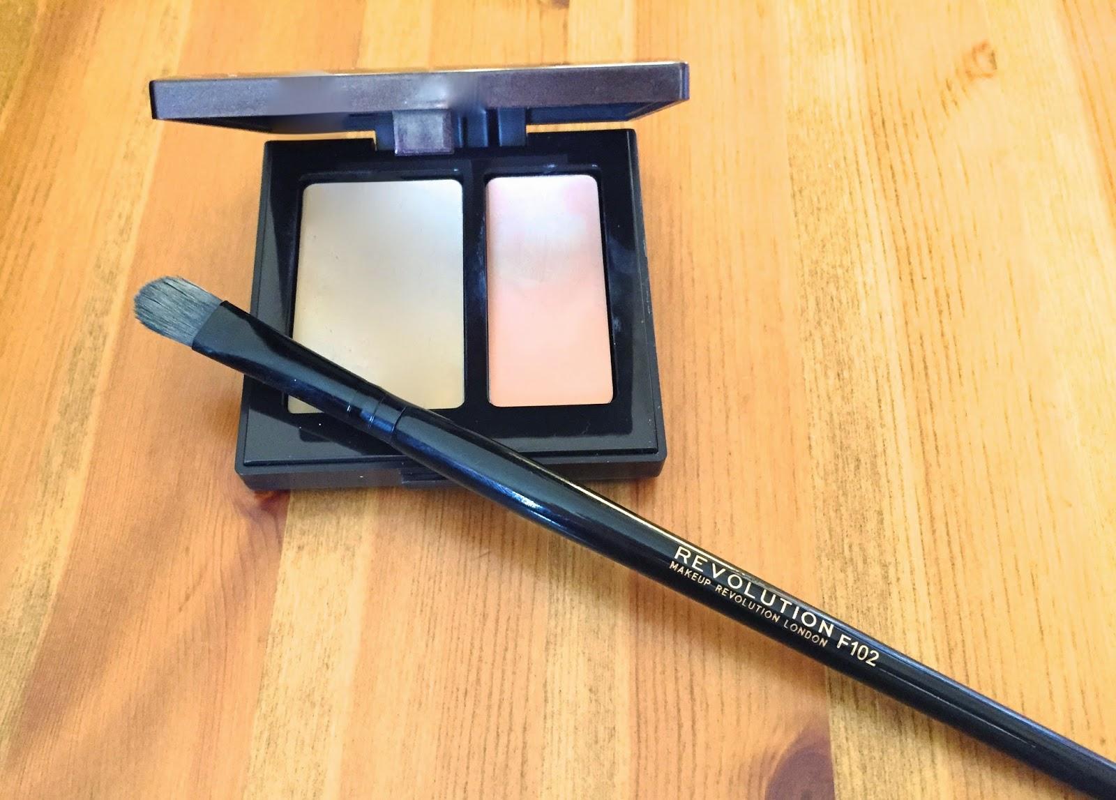 laura mercier, makeup revolution, concealer, secret camouflage, concealer brush, f102