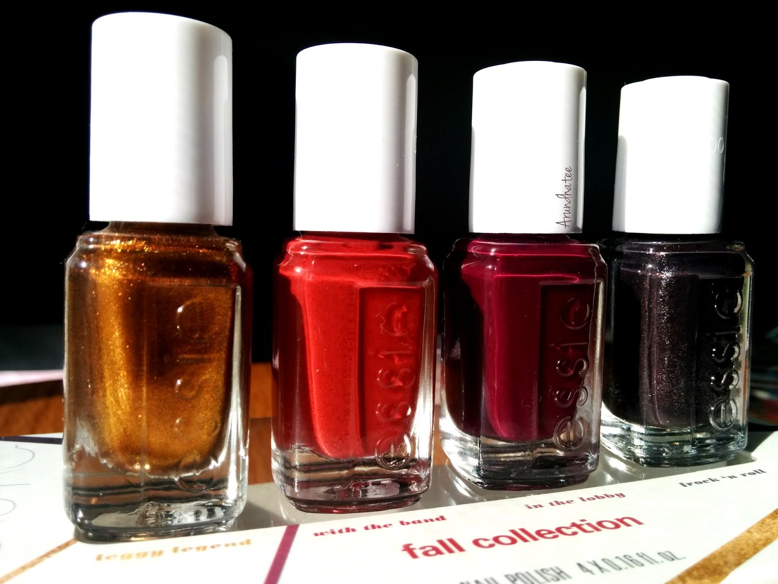 Discovering me: Essie Fall Mini Collection 2015 ::: Swatches and Review
