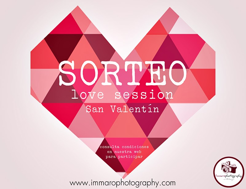 Sorteo love session para san valentín