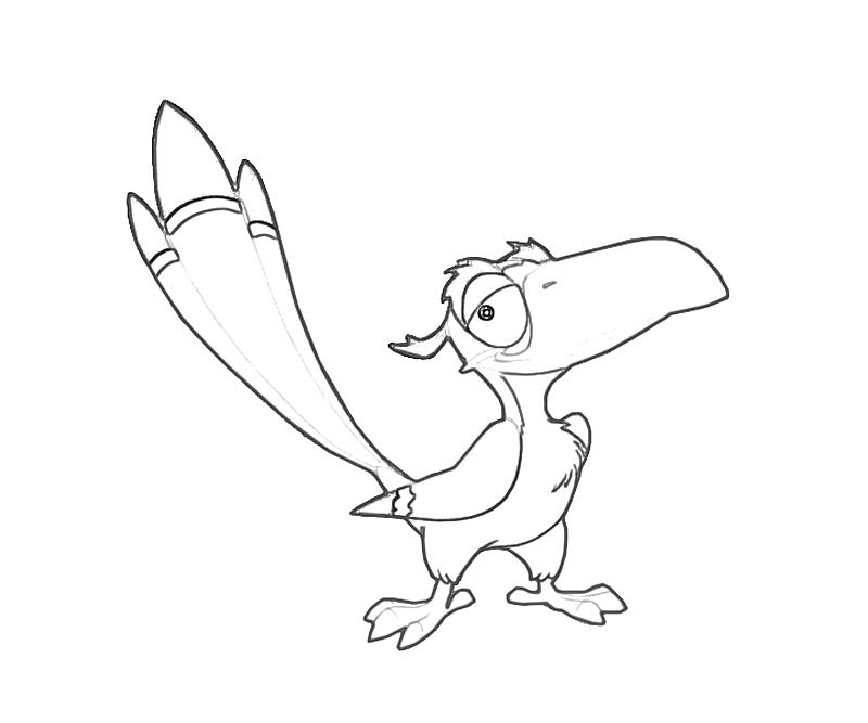 printable-zazu-funny-coloring-pages