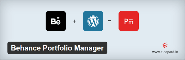 Behance Portfolio Manager plugin