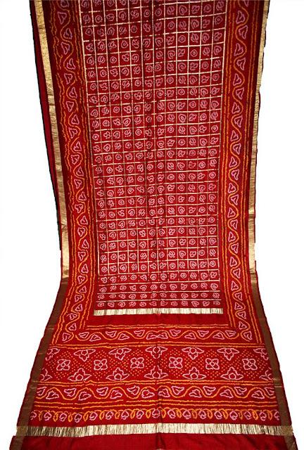 Chunri Print Saree