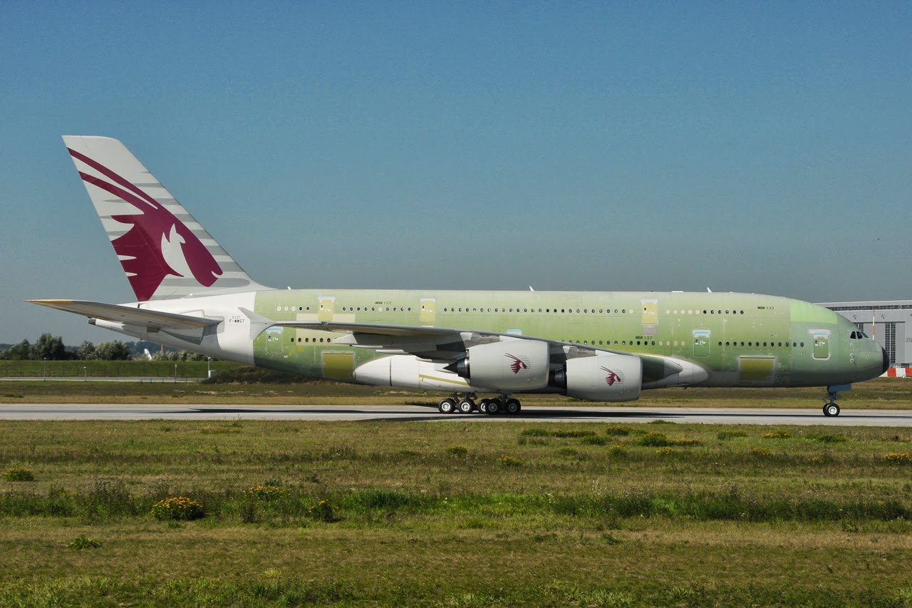 airbus hamburg finkenwerder news a380861 qatar airways