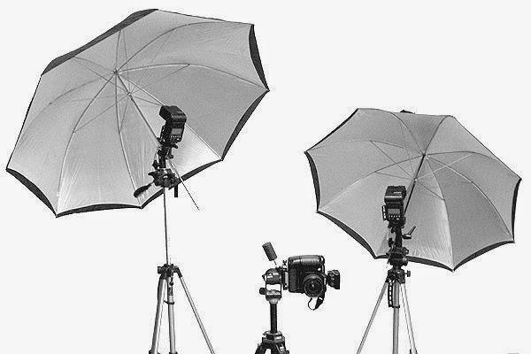 Belajar Fungsi Payung Fotography Studio