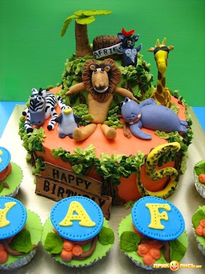 Funny Jungle Cake