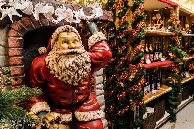 赤レンガ倉庫 クリスマスマーケット サンタクロース