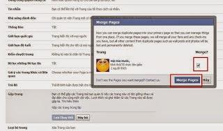 gộp 2 trang fanpage trên facebook 5