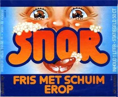 Snor reclame