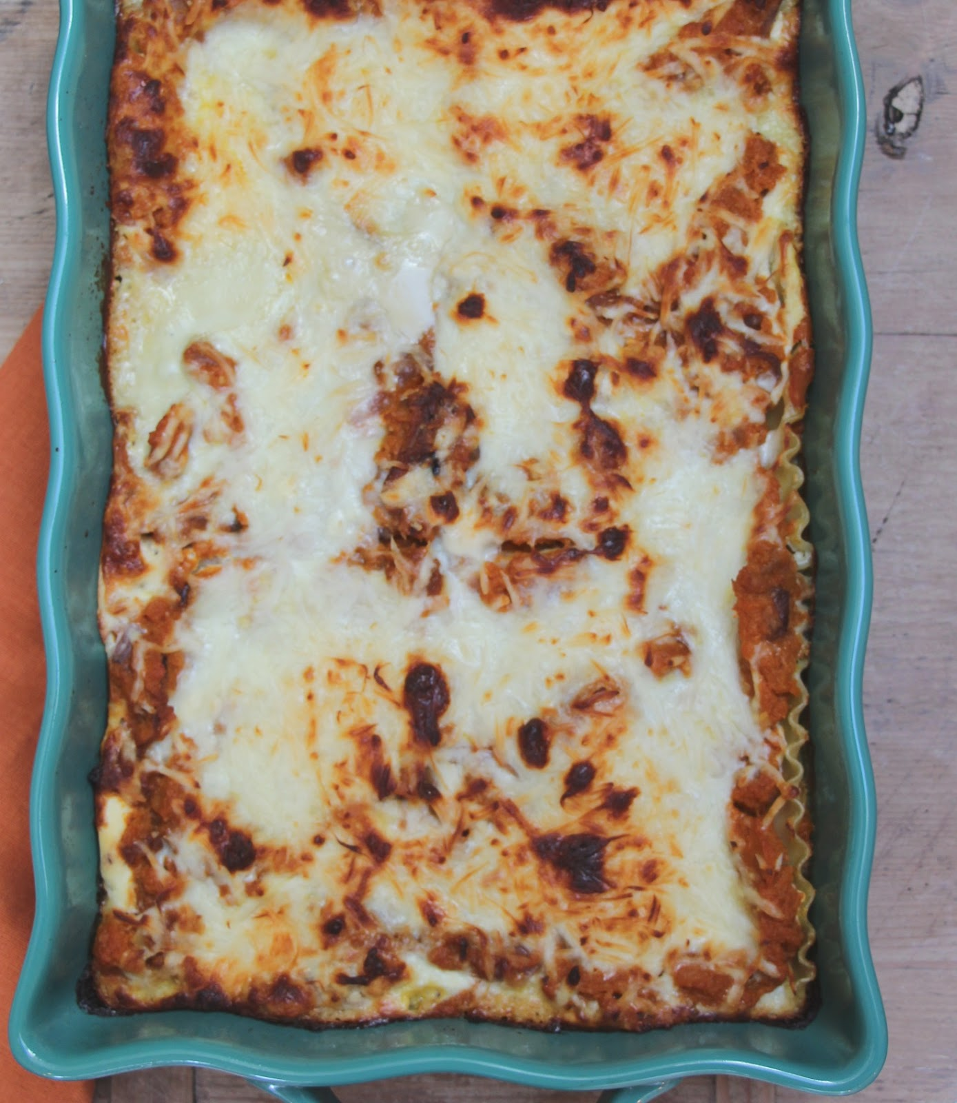 My Sweet Savannah: ~roasted pumpkin and blue cheese lasagna~