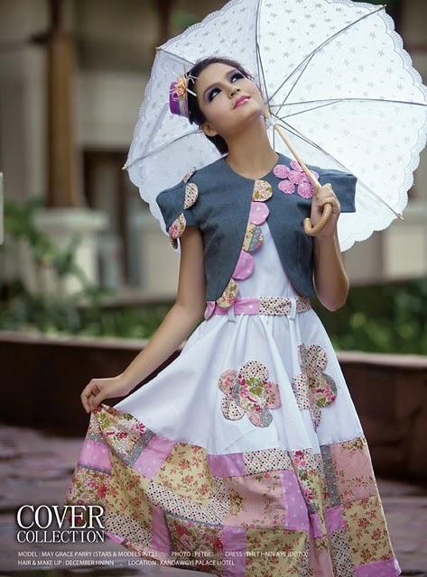 May Grace,burma models