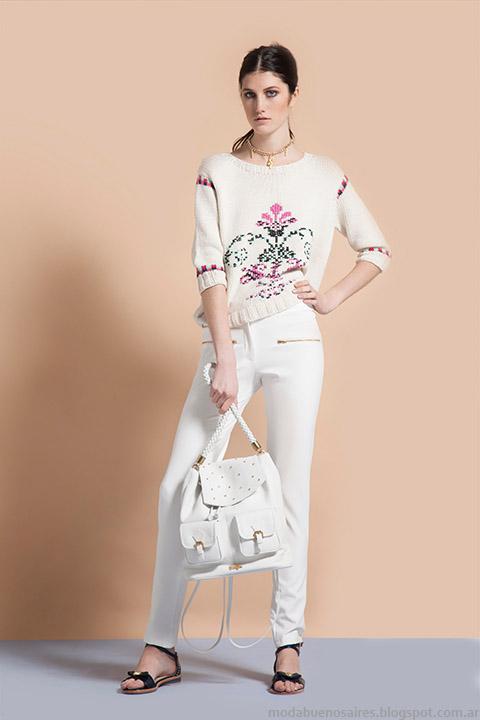 Sweaters Vero Alfie moda mujer verano 2015.