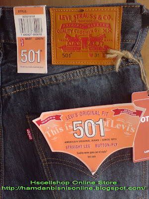 Celana jeans levis 501 usa original import code cl001