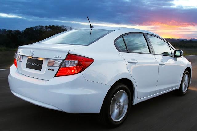 Honda Civic LXR 2.0 2014 - Branco