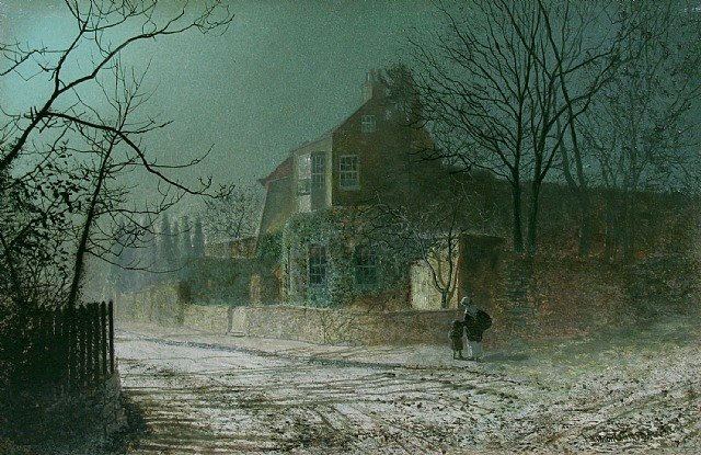Atkinson Grimshaw 1836-1893 ~ British Victorian-era painter