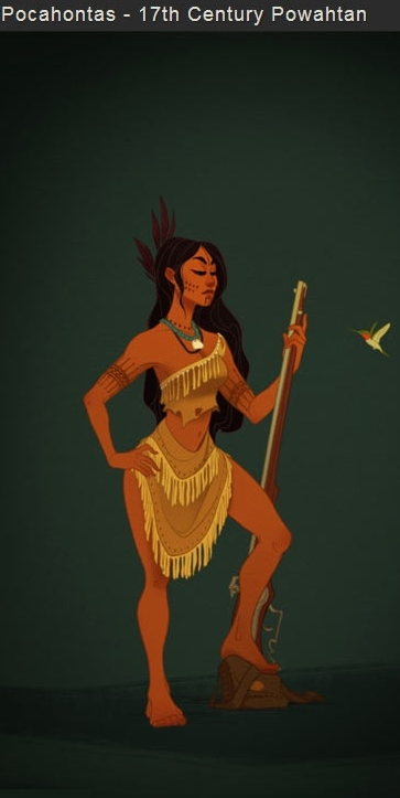 Pocahontas filmprincesses.blogspot.com