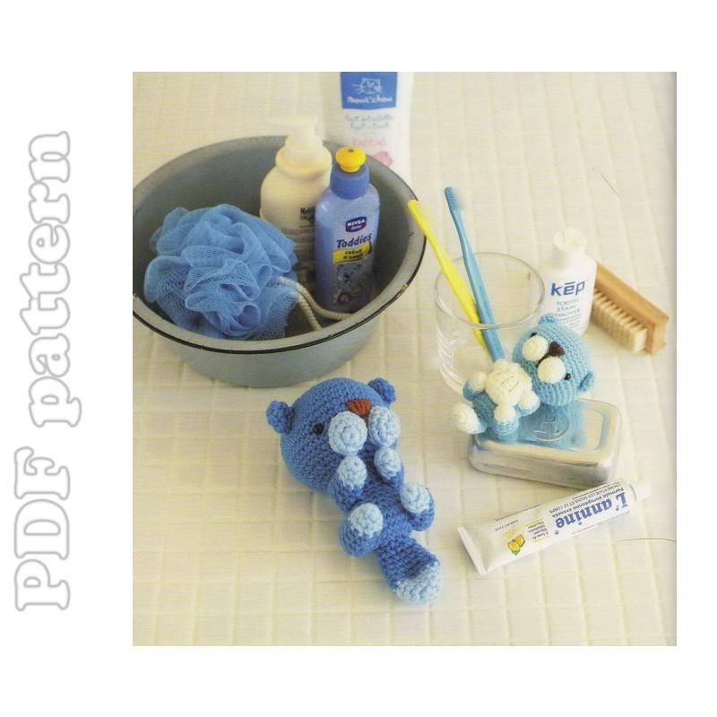 Amigurumi Sea Otter Plush Crochet Pattern PDF CraftyLine ...