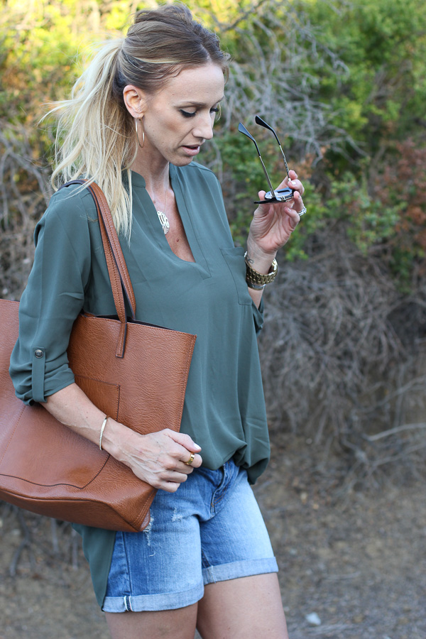 olive tunic top nordstrom