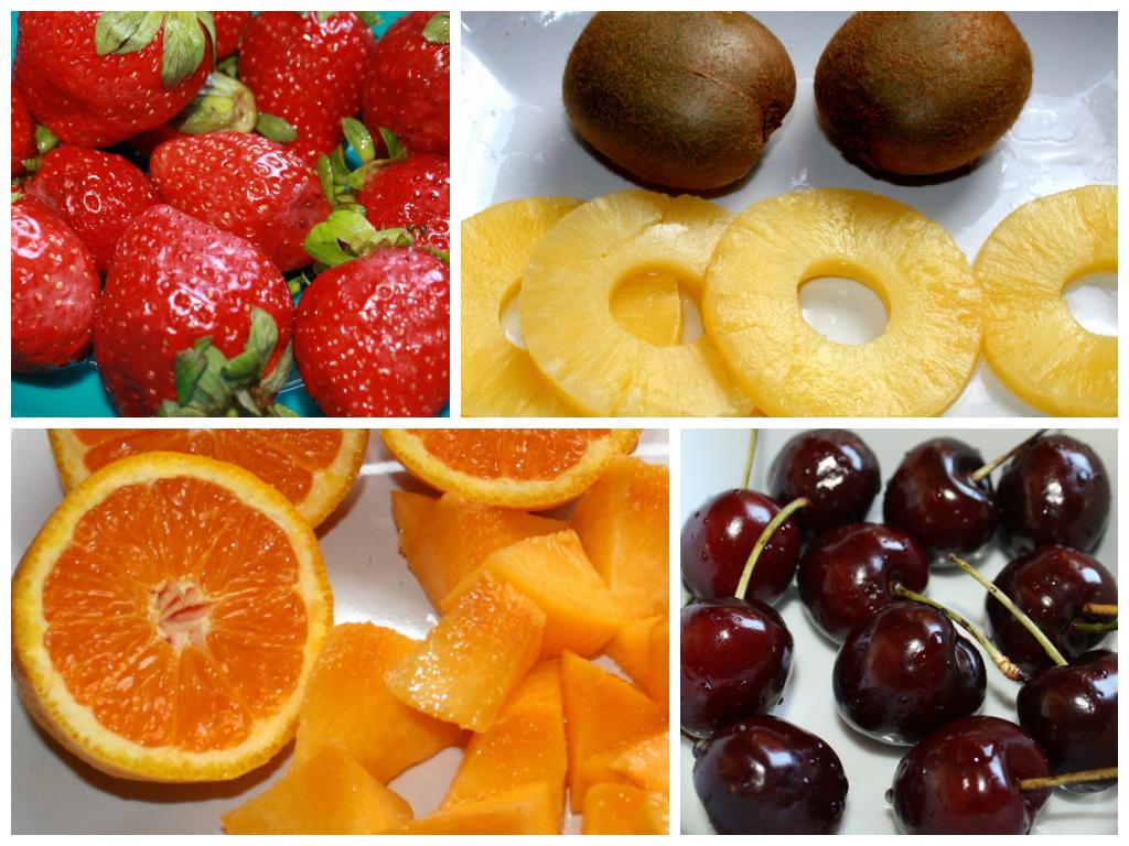 fruta fresca receta