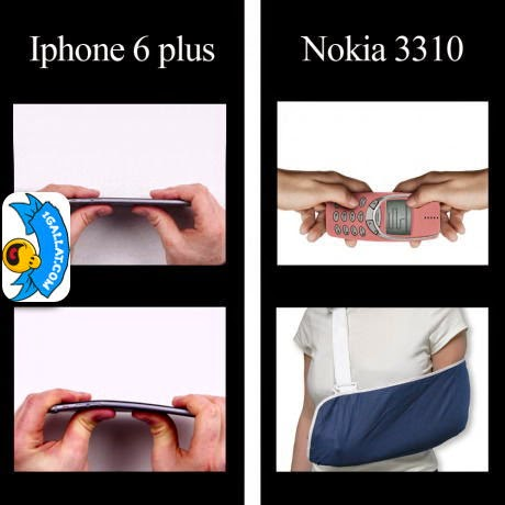 TEKNOLOGJI: Testi Me i Rende iPhone VS Nokia
