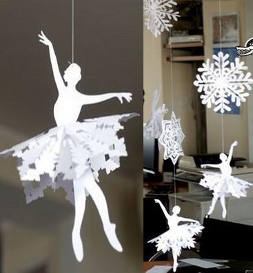 Как сделать украшение для класса из бумаги