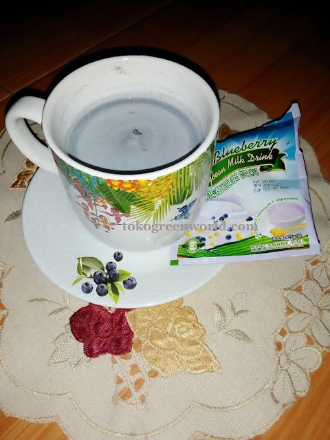 Green World Soybean Milk Drink