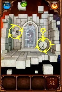 100 Doors Parallel Worlds Level 32 33 34 Answers