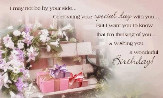 kartu ucapan tersebut dan memberikannya pada acara ulang tahun ...