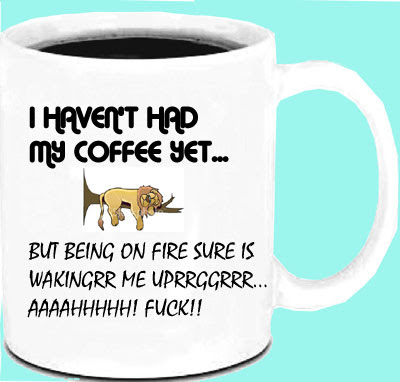 Coffee mug photos - Humorous Coffee mug