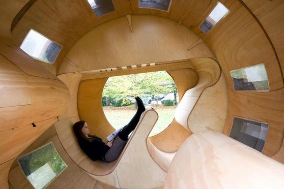 compact mobile home 'roll it' designgerman architect
