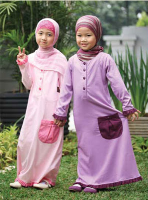 Gambar Baju Muslim Anak Perempuan Usia 4 tahun