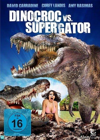Ver Dinocroc Vs. Supergator (2010) Online