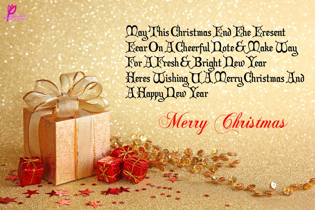 Glitters christmas and new year december 2015 christmas and new year greetings messages kristyandbryce Gallery