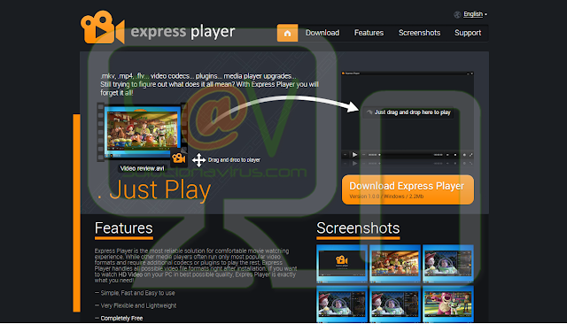 Express Player - Adware