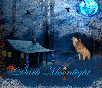 Dark Moonlight digital fantasy backgrounds