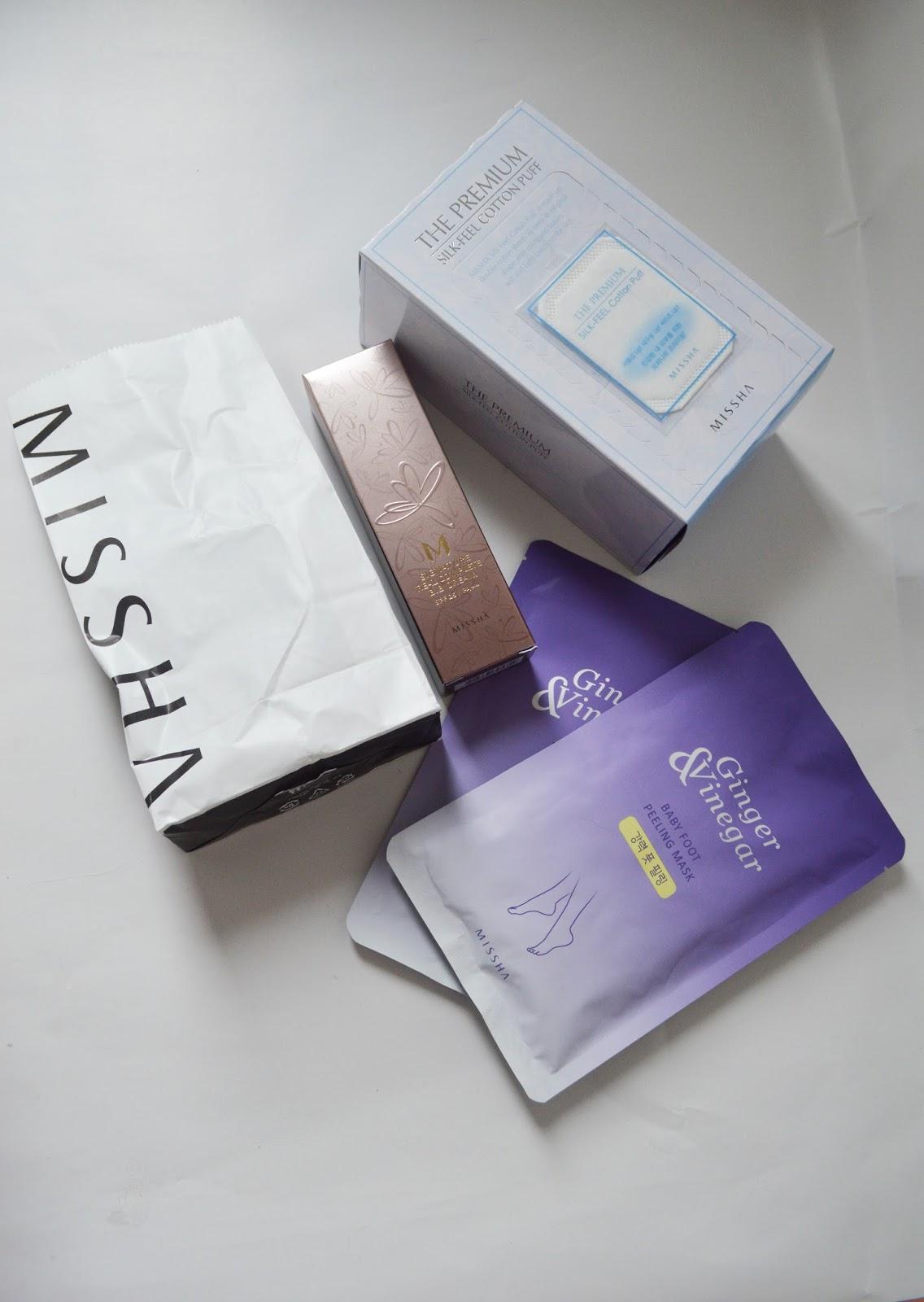Missha Paket Bestellung